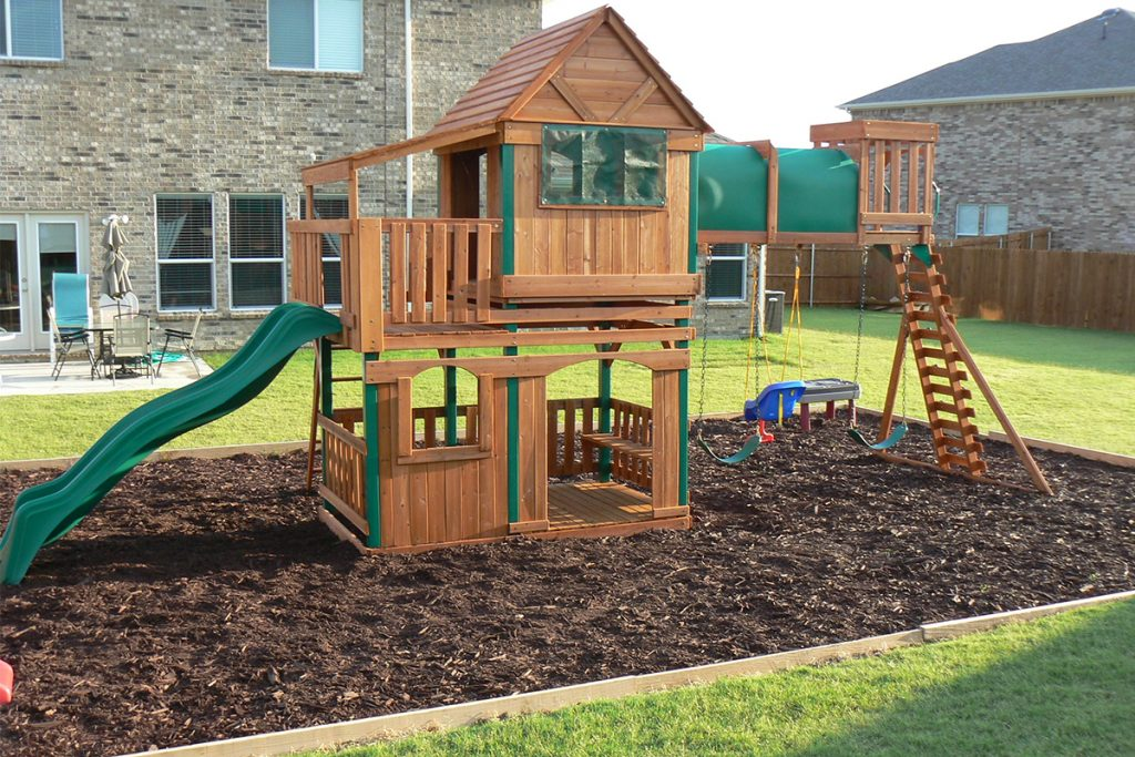 How To Build a Playground Border