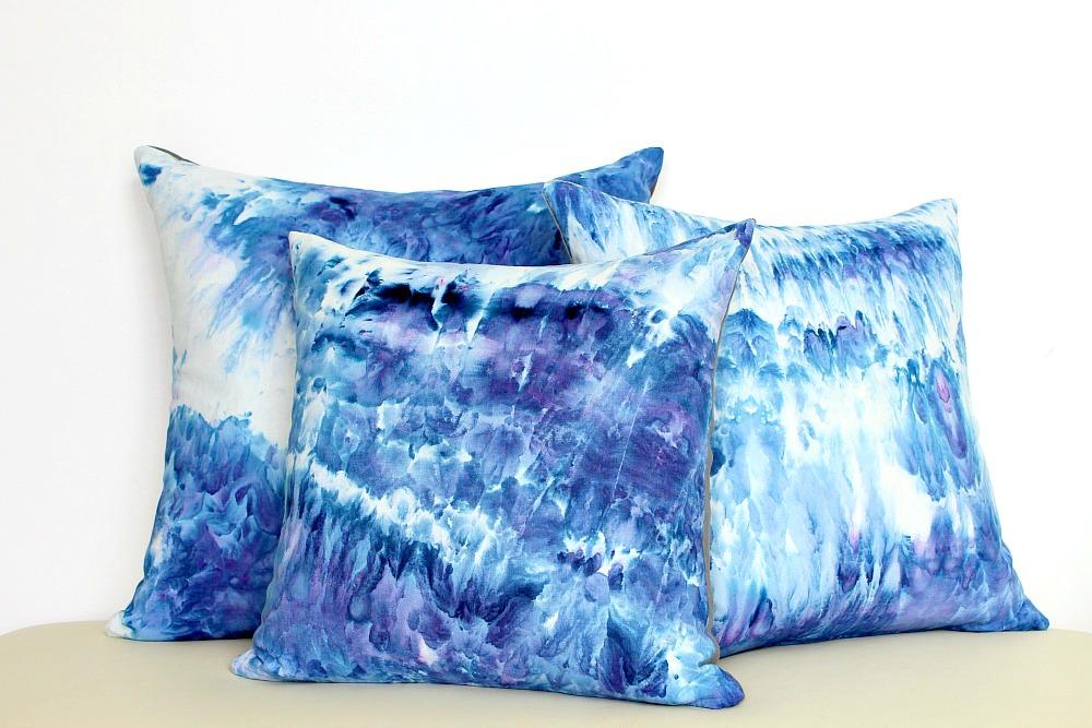 Ice Dye Cushions